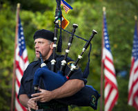 Pittsburgh Police Emerald Society Piper Royalty Free Stock Photos