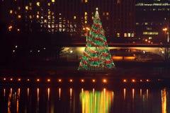 Pittsburgh-PunktNationalpark Weihnachtsbaum Lizenzfreie Stockfotografie