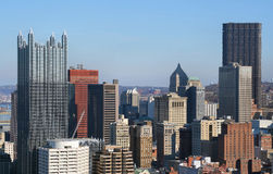 Pittsburgh's skyline Royalty Free Stock Image