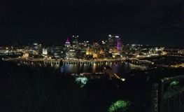 Pittsburgh-Skyline stockbild
