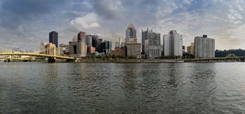 Pittsburgh Skyline Royalty Free Stock Photography