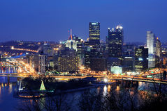 Pittsburgh Skyline Royalty Free Stock Photo
