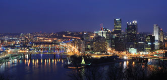 Pittsburgh Skyline Stock Photos
