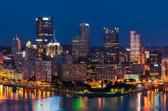Pittsburgh skyline. Royalty Free Stock Image