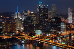 Pittsburgh skyline. Royalty Free Stock Images