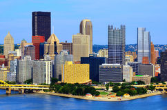 Pittsburgh Skyline Stock Image