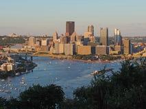 Pittsburgh-Skyline Stockfoto