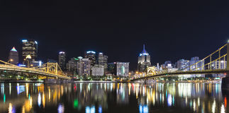 Pittsburgh-Skyline Lizenzfreies Stockbild