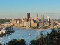 Pittsburgh Skyline Royalty Free Stock Photos