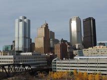 Pittsburgh Skyline from Liberty Bridge Royalty Free Stock Photo