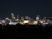 Pittsburgh Skyline at Night Royalty Free Stock Photos