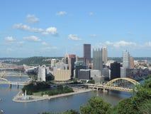 Pittsburgh skyline Stock Image