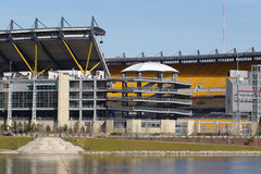 Pittsburgh Stadium. Pittsburgh Football Stadium Stock Image
