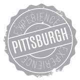 Pittsburgh stamp rubber grunge Stock Images