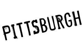 Pittsburgh stamp rubber grunge Stock Image