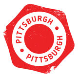 Pittsburgh stamp rubber grunge Royalty Free Stock Images