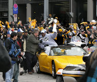 Pittsburgh Steeler Parade 2009. Pittsburgh Steelers Super Bowl Parade 2009 Royalty Free Stock Images