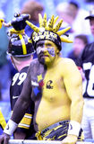 Pittsburgh Steelers fan. Stock Images