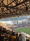 Pittsburgh Steelers fans Royalty Free Stock Images