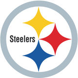 Pittsburgh steelers logo NFL Royalty Free Stock Photo