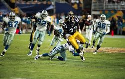 Pittsburgh Steelers RB Bam Morris #33 Lizenzfreies Stockbild