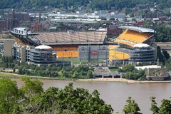 Pittsburgh Steelers stadium stock image