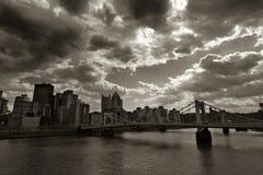 Pittsburgh storica Fotografie Stock