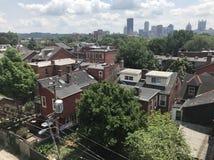 Pittsburgh suburbano foto de stock
