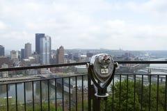 Pittsburgh turysty widok zdjęcia stock