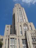 Pittsburgh University. Its one of the highest university buildings of the world Royalty Free Stock Photography
