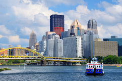 Pittsburgh Waterfront Stock Photo
