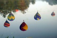 pittsfield празднества воздушного шара Стоковые Фотографии RF