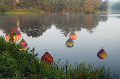 pittsfield празднества воздушного шара Стоковая Фотография