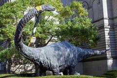 Pittsubrgh dinosaurie Arkivbild