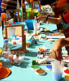 Pittura Fotografia Stock