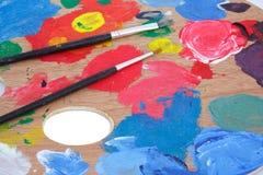 Pittura fotografie stock