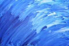 Pittura acrilica Fotografia Stock
