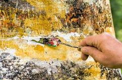 Pittura acrilica astratta