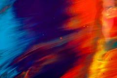 Pittura ad olio Fotografia Stock Libera da Diritti