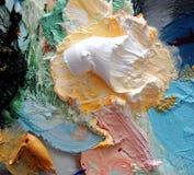 Pittura ad olio Immagini Stock
