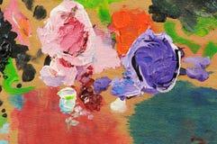 Pittura ad olio Immagine Stock Libera da Diritti