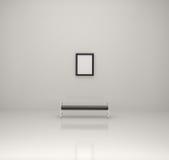 Pittura all'interno di una galleria Fotografia Stock Libera da Diritti
