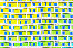 Pittura artistica moderna di Digital Fotografia Stock Libera da Diritti