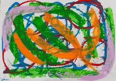 Pittura astratta royalty illustrazione gratis