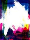 Pittura astratta Fotografia Stock Libera da Diritti
