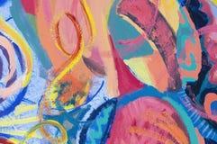 pittura astratta 60208142 Fotografia Stock