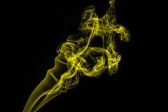 Pittura astratta ballante del fumo fotografie stock libere da diritti