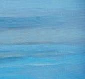 Pittura astratta dall'olio su una tela, illustrazione, fondo Fotografia Stock