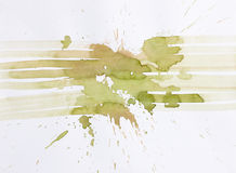 Pittura astratta dell'acquerello Immagini Stock