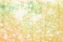 Pittura astratta della mano di arte dell'acquerello su fondo bianco Priorit? bassa dell'acquerello royalty illustrazione gratis